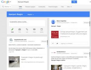 hashtag su Google +