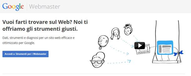 Strumenti per il webmaster di Google