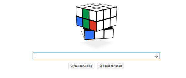 Cubo di Rubik Google