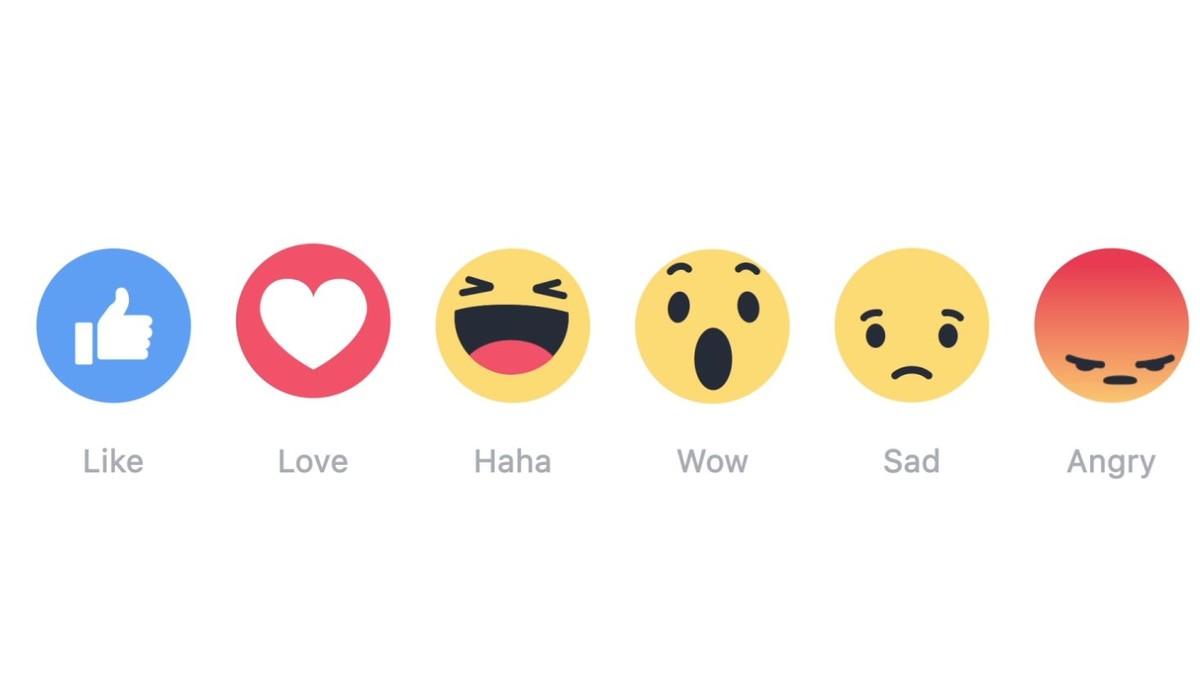 """Facebook Reactions: le nuove alternative al """"Mi piace"""""""