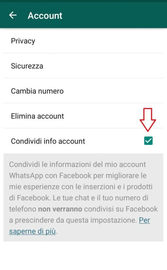 WhatsApp e Facebook cosa cambia