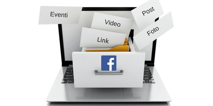 Salvare contenuti facebook