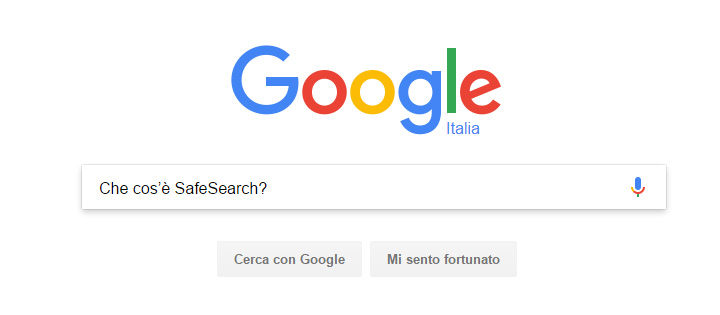 che cos'è Safesearch?