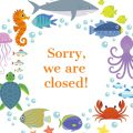 Sorry, we are closed!