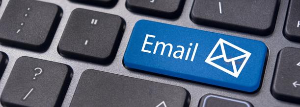 Configurazione email
