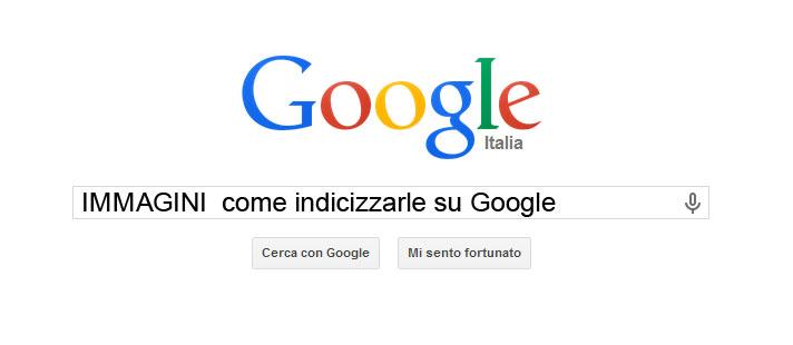 indicizzare immagini su Google