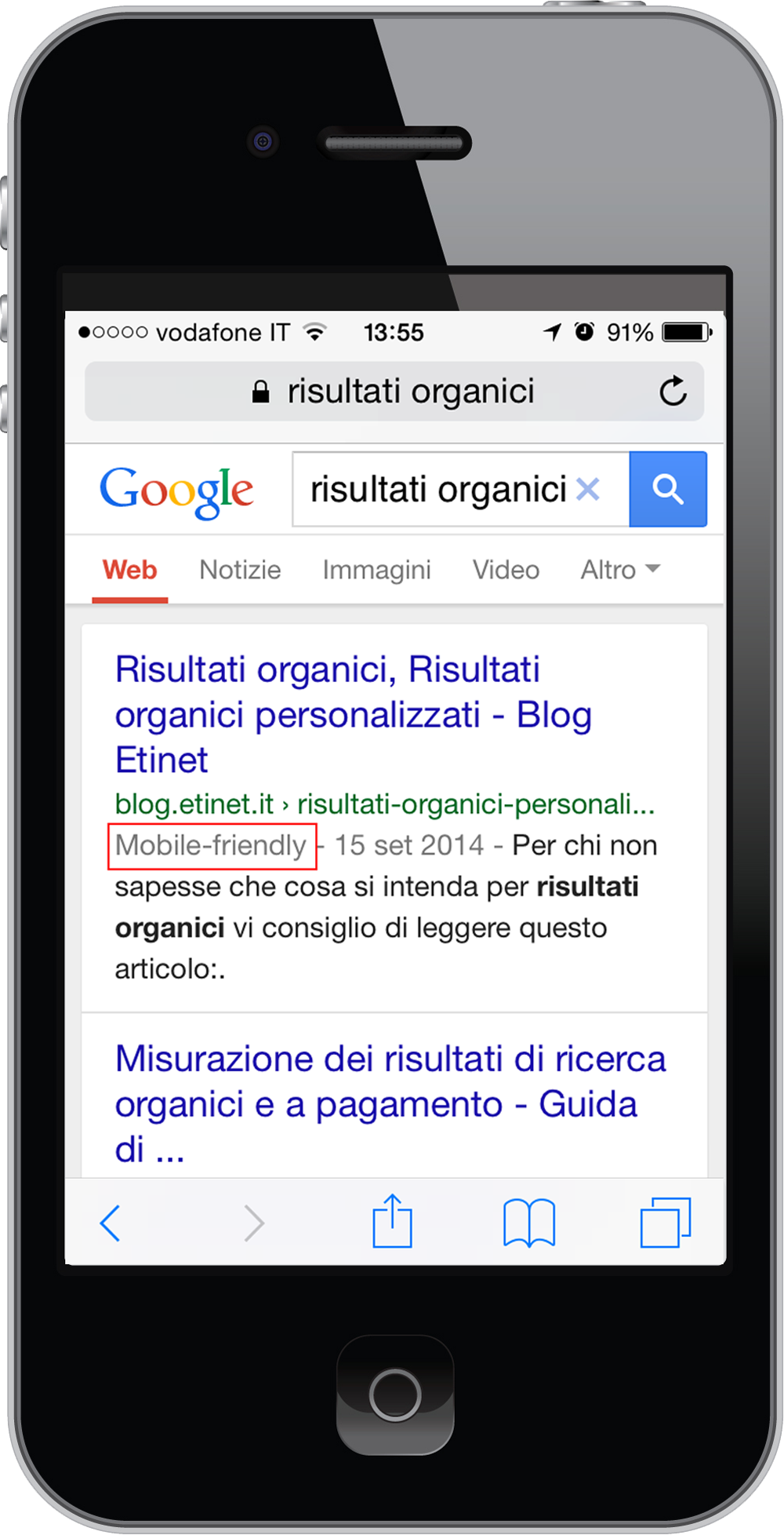 Ricerca Per Immagini Mobile mobile friendly significato